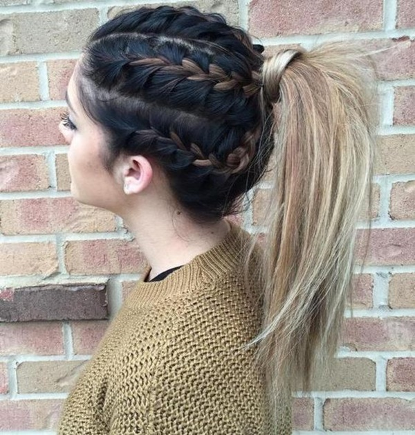 ponytail hairstyles for long hair (40)