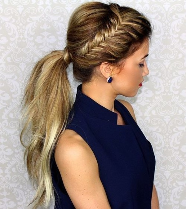 ponytail hairstyles for long hair (46)