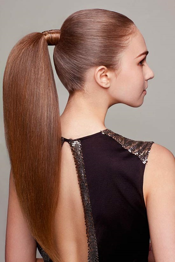 ponytail hairstyles for long hair (49)