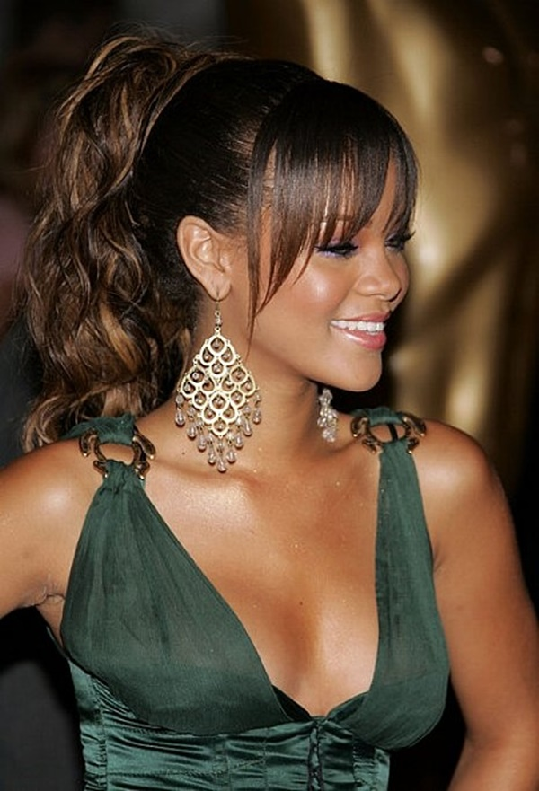 cute hairstyles black women hairstyles 2015 for long hair with cute ponytail hairstyles for black hair - My Blog