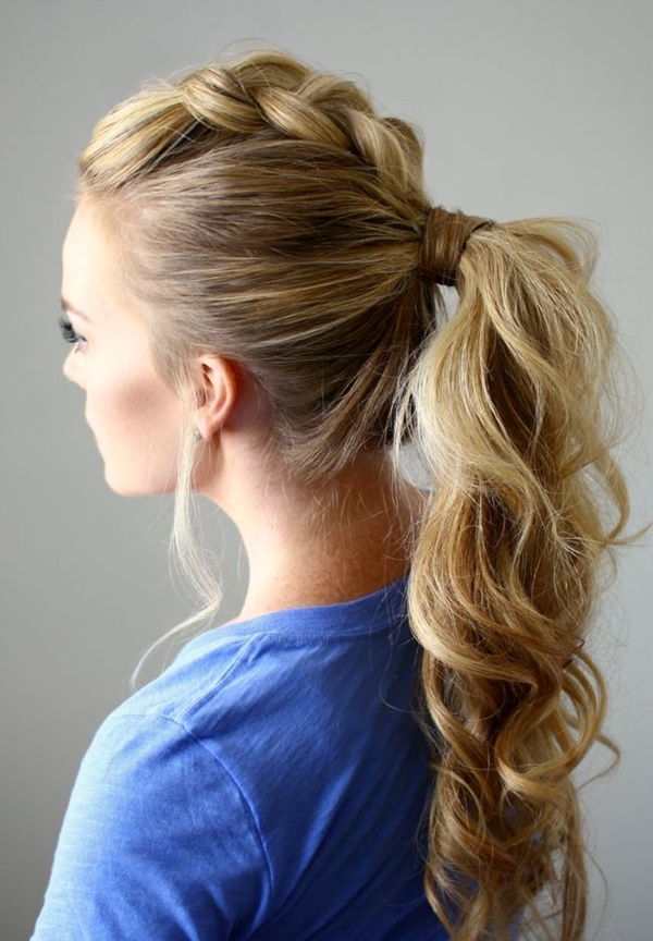 ponytail hairstyles for long hair (8)