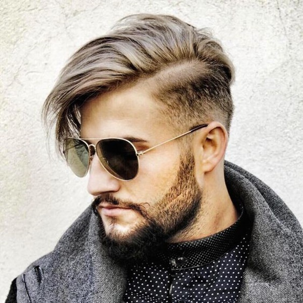 side swept hairstyle for men (2)