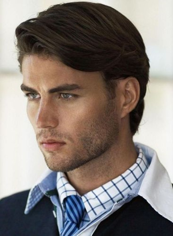 side swept hairstyle for men (29)